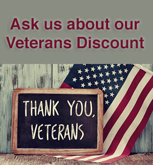 oakland valley campground offers a veterans discount to our campers